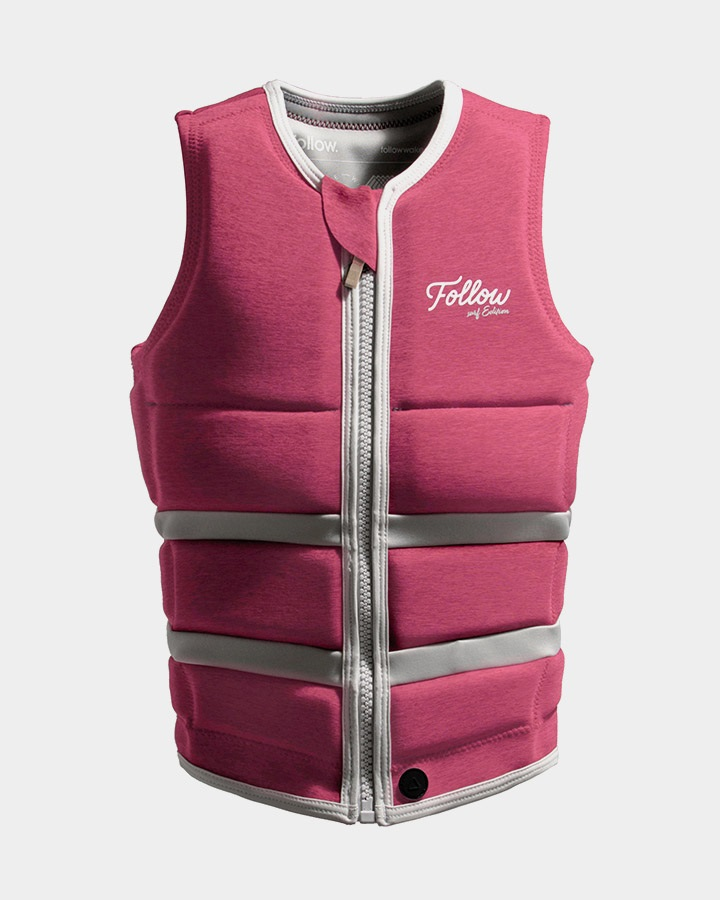 Follow Surf Edition Ladies Wakeboard Impact Vest, M 10 Pink 2021