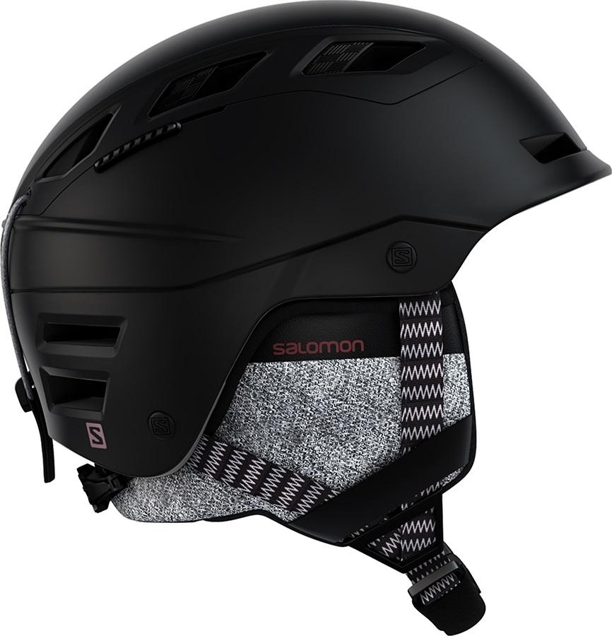Salomon QST Charge Ski/Snowboard Helmet, S Black