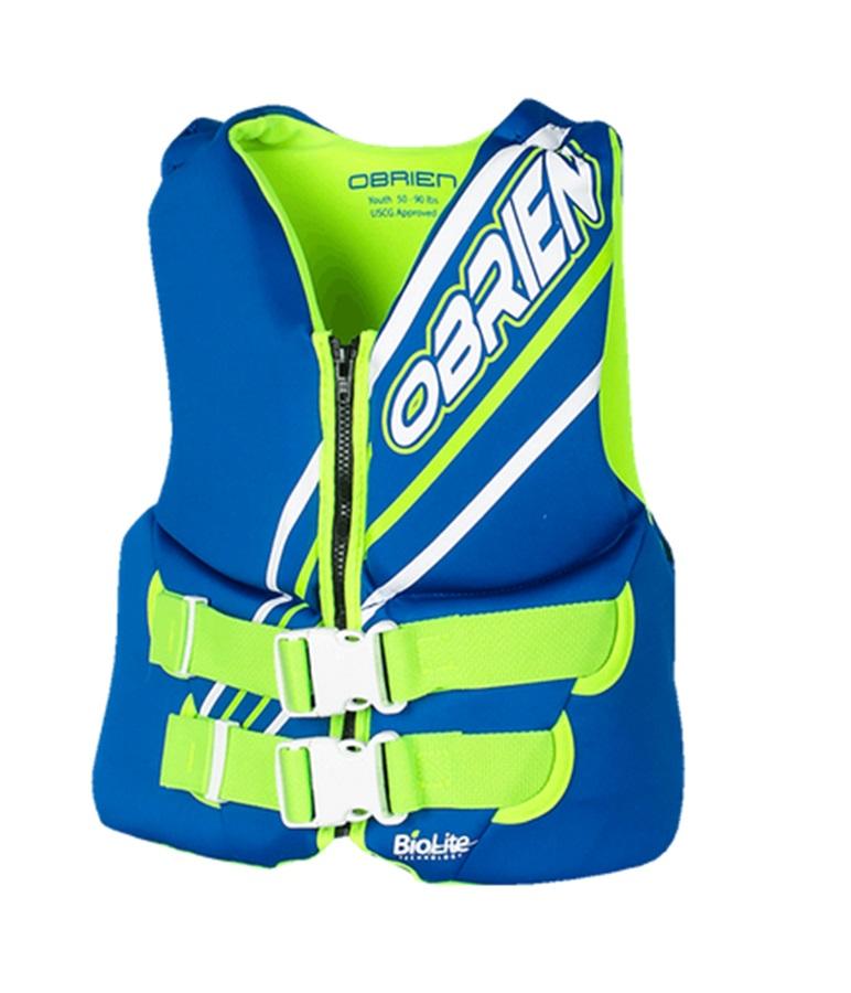 O'Brien Youth | Teen Biolite Watersports Life Jacket, Teen / XS Blue