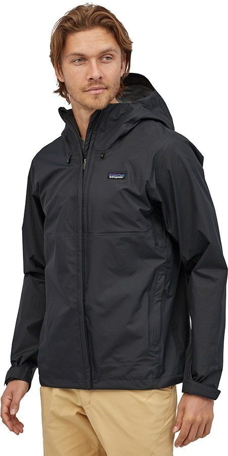 Patagonia Adult Unisex Torrentshell 3l Waterproof Jacket, S Black