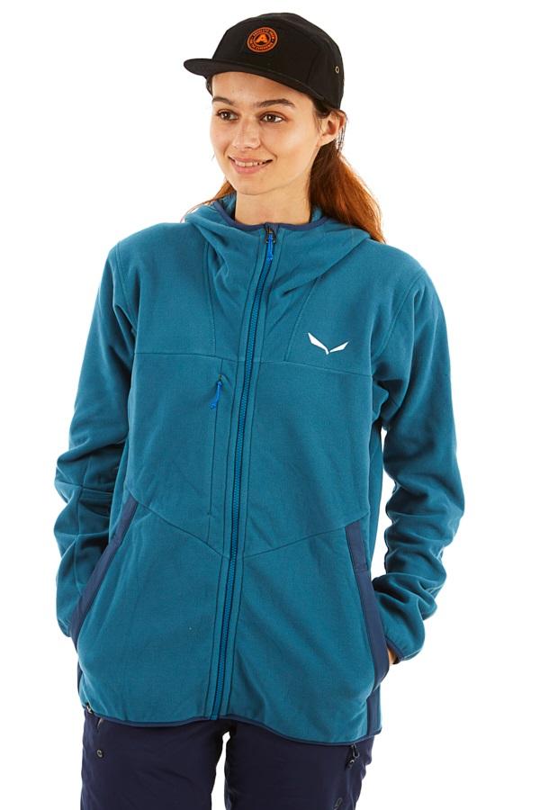Salewa Antelao Polartec Women's Full Zip Fleece Hoody UK 14 Mallard