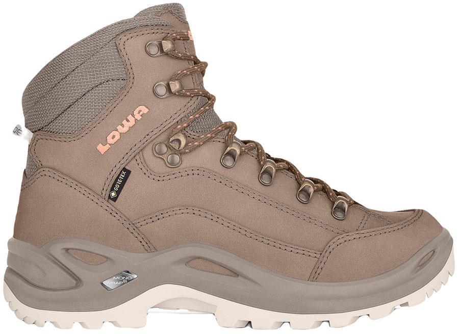 Lowa Renegade GTX Mid Women's Hiking Boots UK 6.5 Sand/Apricot
