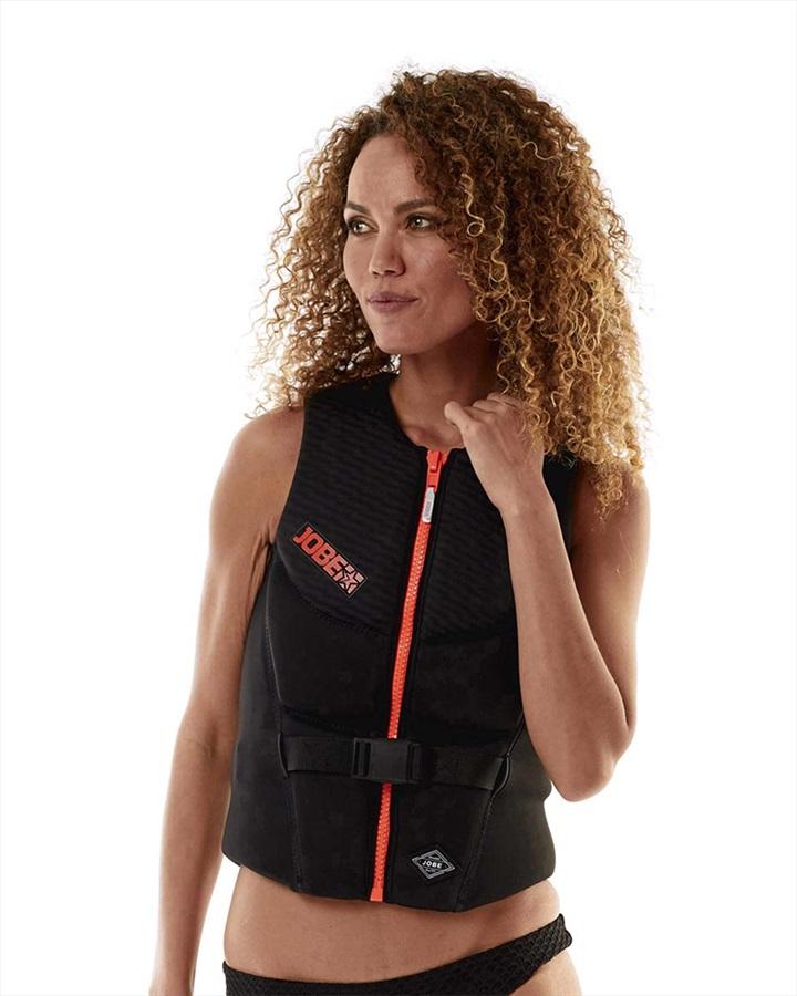 Jobe 3D Comp Women's Impact Vest, L Black Orange 2020