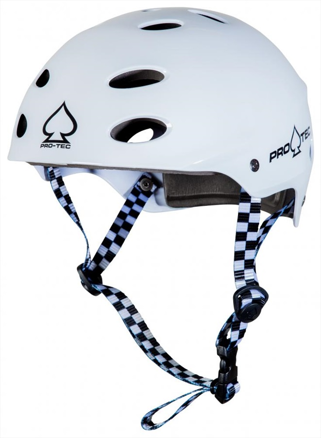Pro-tec ACE Water Watersports Helmet, XL Gloss White
