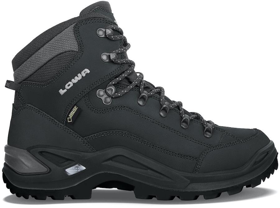 Lowa Renegade GTX Mid Wide Men's Hiking Boots, UK 8.5 Deep Black