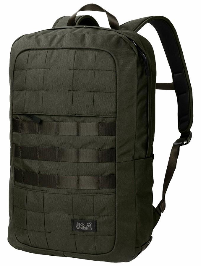 Jack Wolfskin TRT 18 Travel Backpack, 18L Pinewood