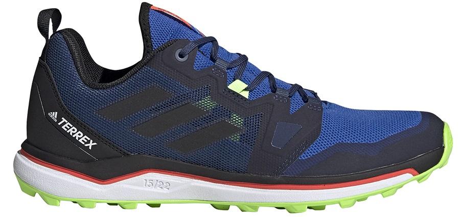 Adidas Terrex Agravic Men's Trail Running Shoes, UK 11 Glory Blue