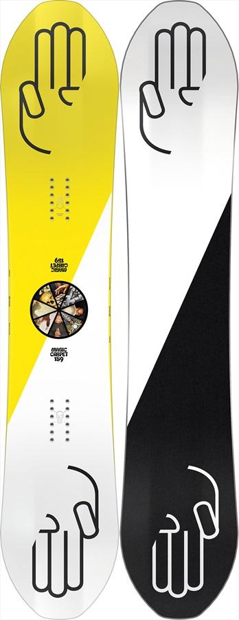 Bataleon Magic Carpet Hybrid 3bt Camber Snowboard, 151cm 2021