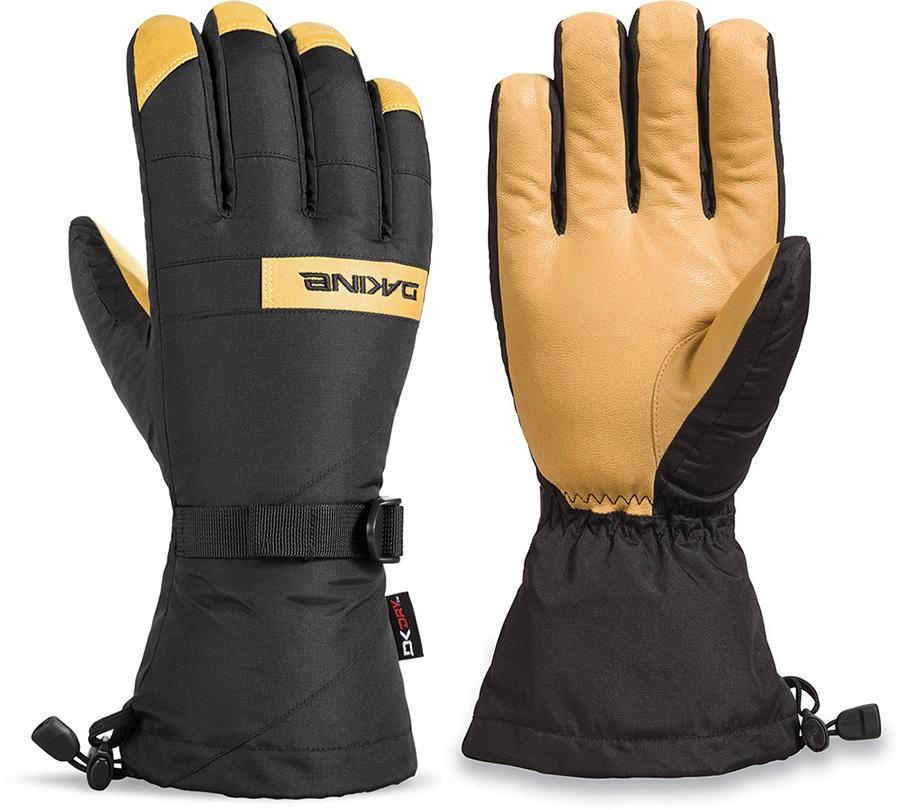 Dakine Nova DK Dry Snowboard/Ski Gloves M Black/Tan