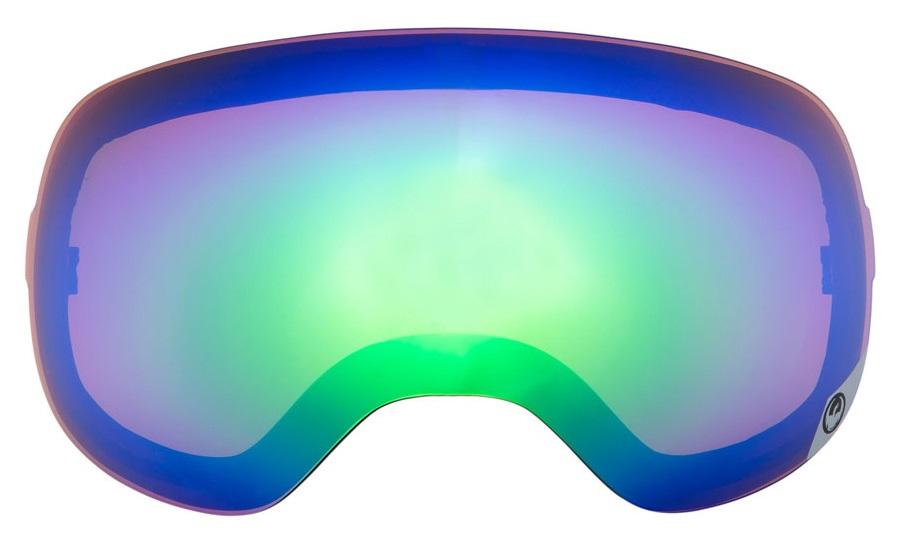 Dragon X2 Ex Display Ski/Snowboard Goggle Spare Lens, Green Ionized