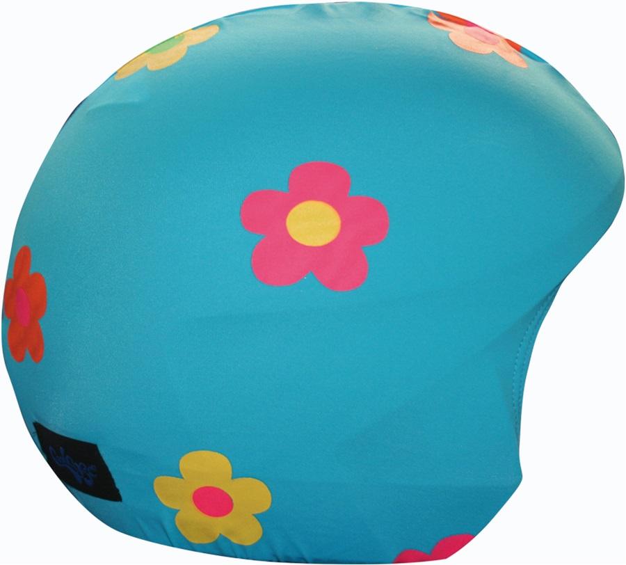 Coolcasc Foggy Days Ski/Snowboard Helmet Cover, Foggy Flowers