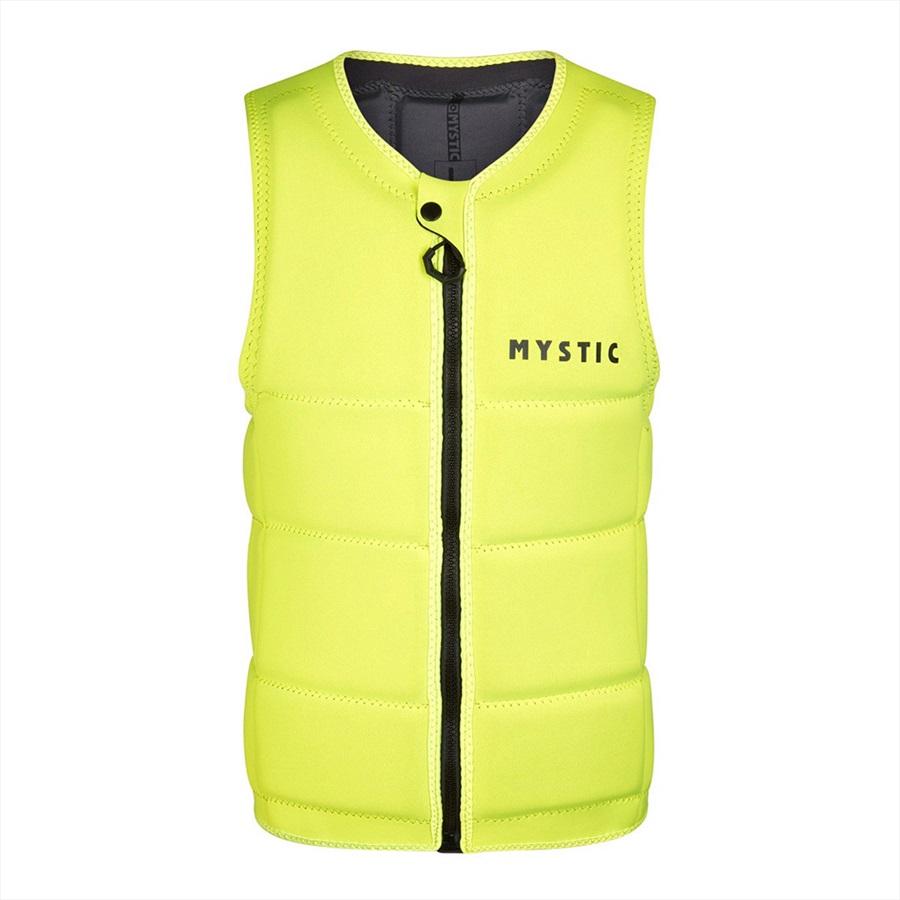 Mystic Brand Wakeboard Impact Vest, L Yellow 2021