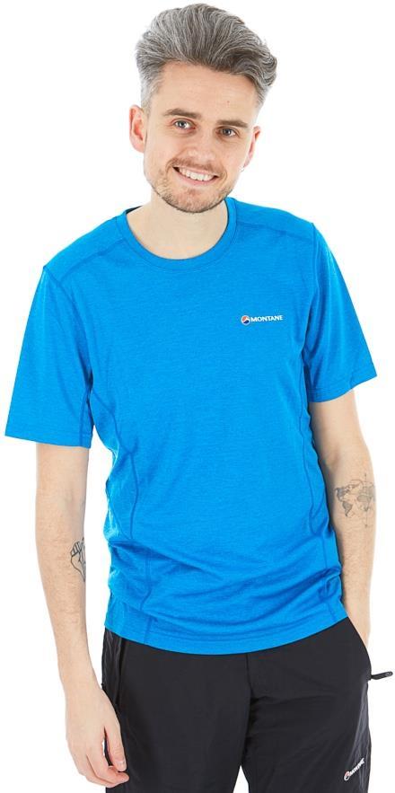 Montane Dart Technical Short Sleeve T-Shirt, M Electric Blue