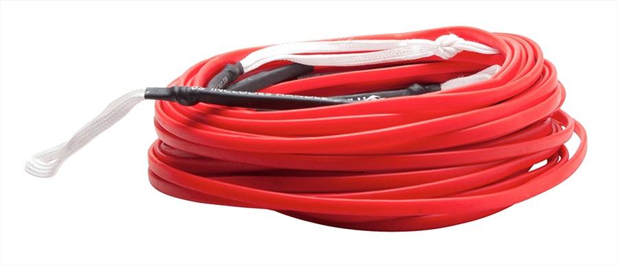 Hyperlite Flatline Wakeboard Rope, 80' Red