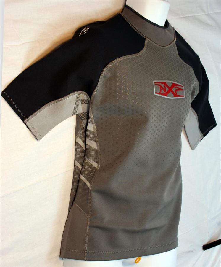 NPX HEATSEEKER 5011 Neoprene Thermal Vest S/S, XS Grey Black