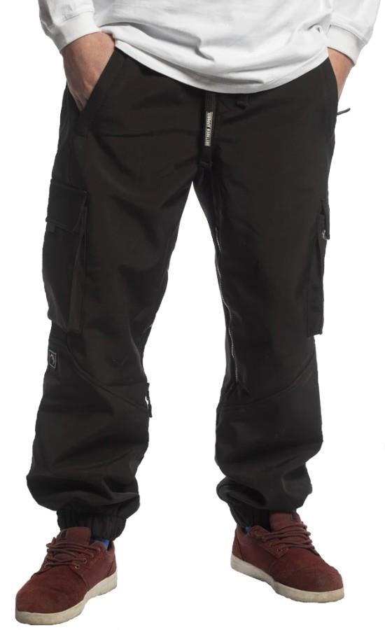 Brethren Apparel Joggers Softshell Ski/Snowboard Pants, S Nightwatch