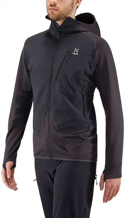 Haglofs Spire Mid Hood Lightweight Breathable Jacket, S Slate