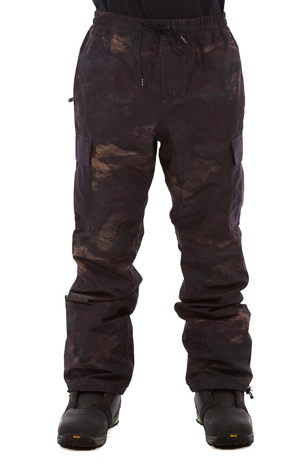 thirtytwo Fatigue Snowboard/Ski Pants, M Brown/Camo