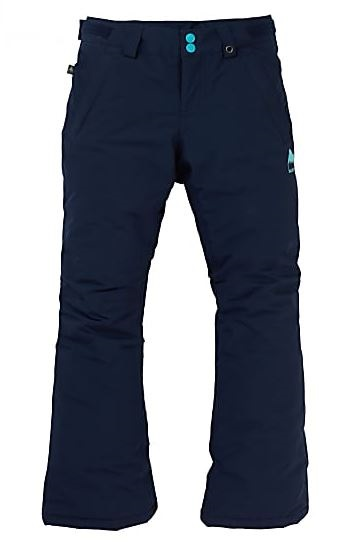 Burton Sweetart Pants Girl's Ski/Snowboard Trousers, XL Dress Blue