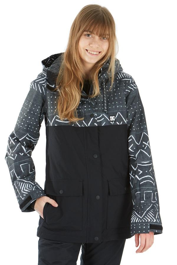 DC Cruiser Women's Ski/Snowboard Insulated Jacket, XS Cloth Print