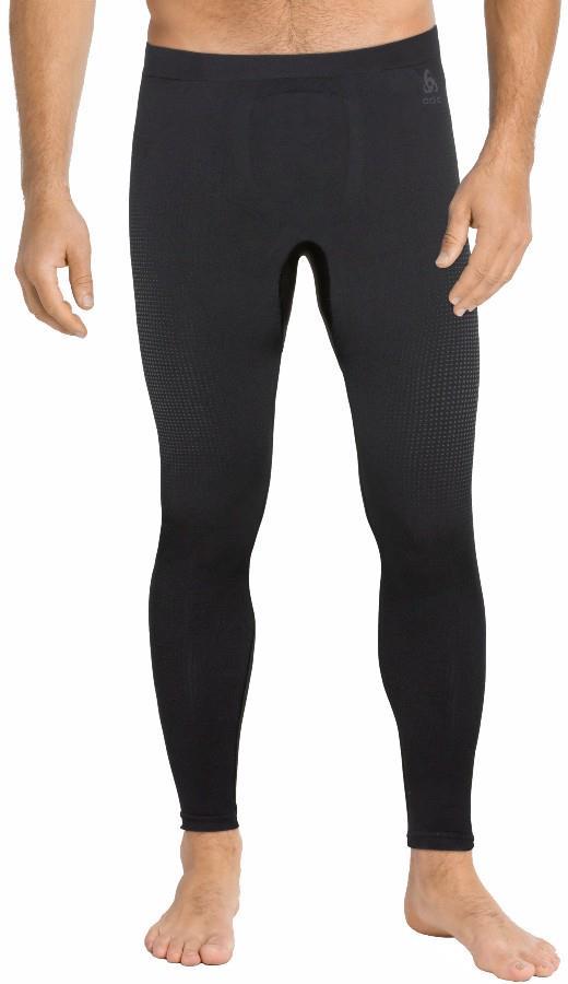 Odlo Performance Warm Eco Men's Base Layer Long Pants, M Black