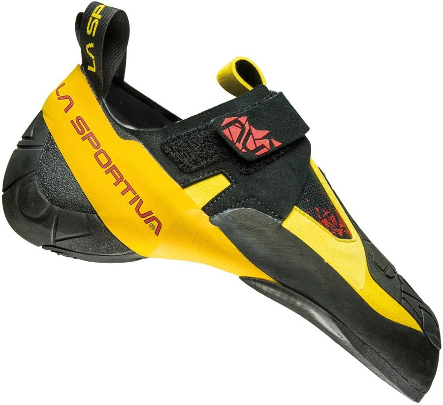 La Sportiva Skwama Rock Climbing Shoe, UK 5 | EU 38 Black/Yellow