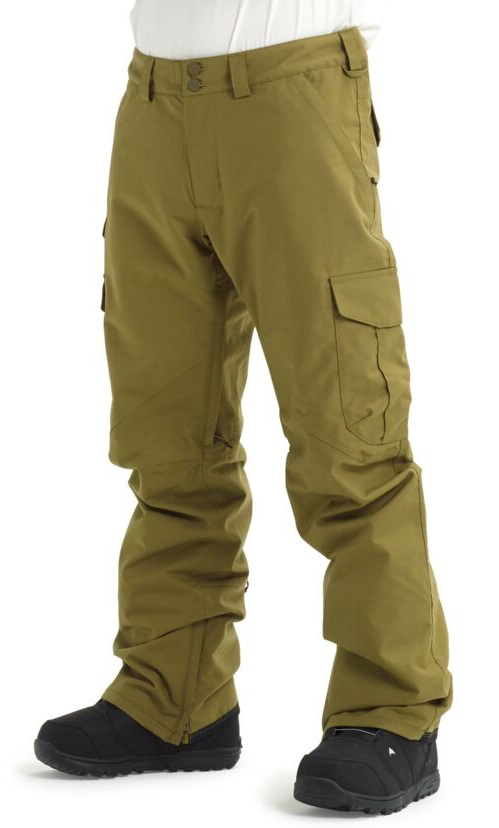 Burton Cargo Snowboard/Ski Pants, XL Martini Olive