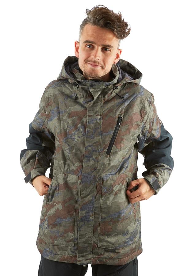Bonfire Strata Men's Ski/Snowboard Jacket, S Olive Camo