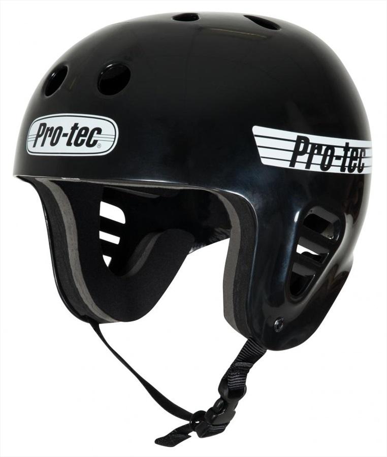 Pro-tec Classic Full Cut Watersports Helmet, S Gloss Black