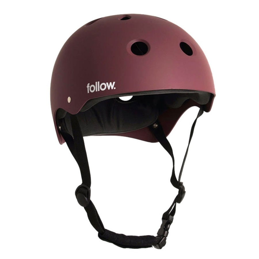 Follow Safety First Watersports Helmet, M Burnt Red 2021