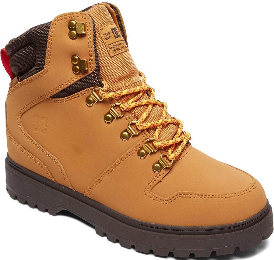 DC Peary Men's Winter Boots, UK 7 Wheat/Dark Chocolate
