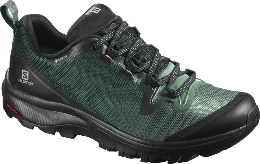 Salomon Vaya GTX Women's Gore-Tex Hiking Shoes, UK 6.5 Balsam Green