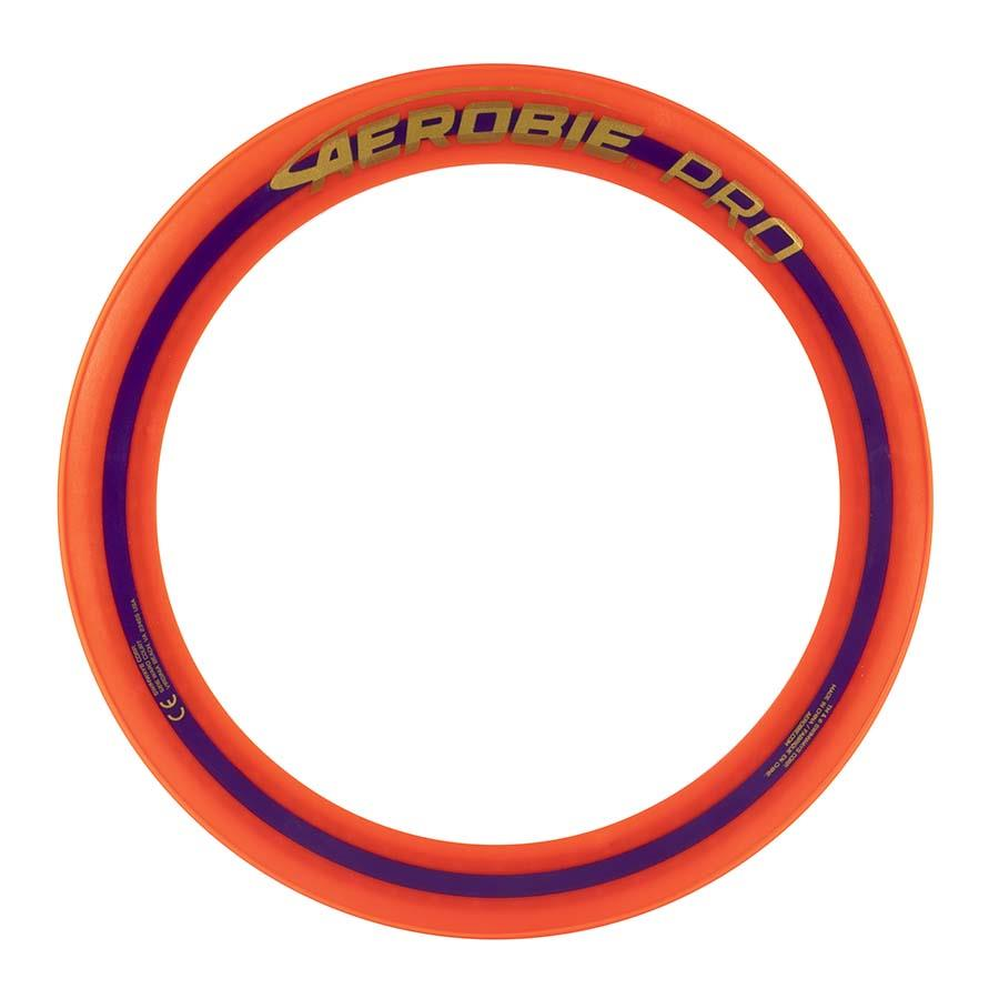 Aerobie Pro Flying Ring, 13-inch (33 cm) Orange, Thrown Outdoor Toy