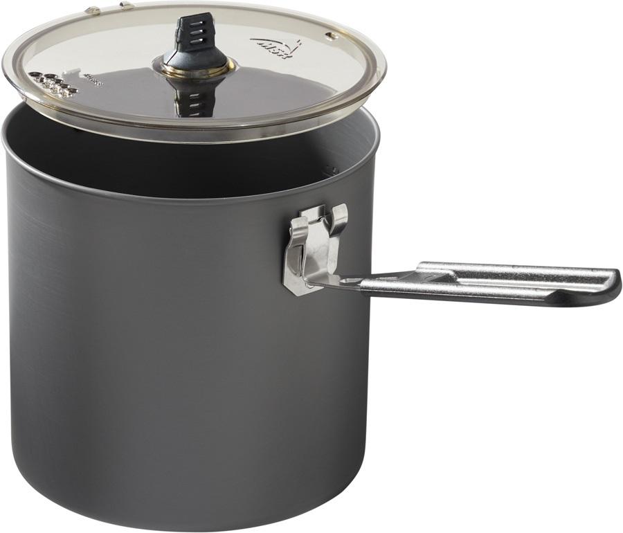 MSR Trail Lite Pot Camping Cookware, 2L Grey