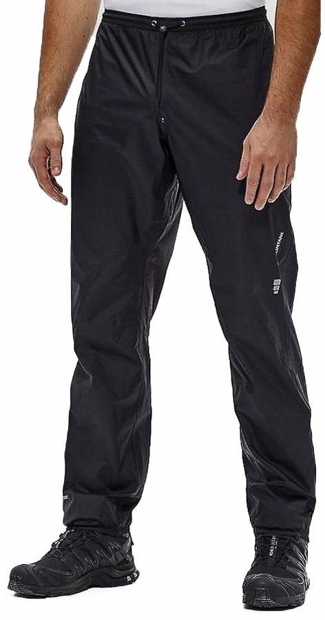 Montane Minimus Men's Waterproof Over Trousers, M Black