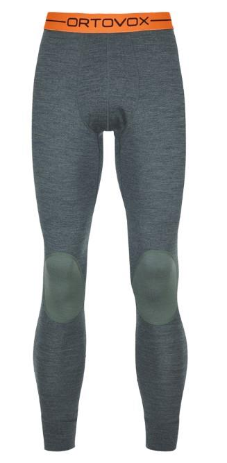 Ortovox Rock'n'Wool Long Thermal Pants XL Green Forest Blend