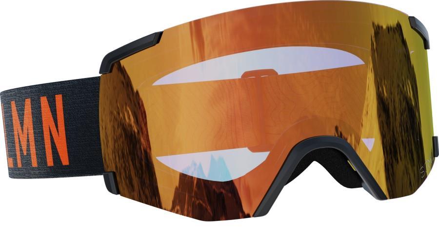 Salomon S/View Sigma Poppy Red Snowboard/Ski Goggles, M/L Black/Red