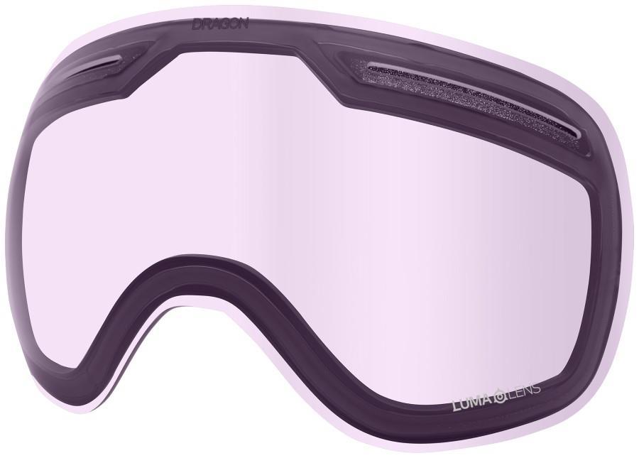 Dragon X1 Snowboard/Ski Goggle Spare Lens OS LumaLens Violet