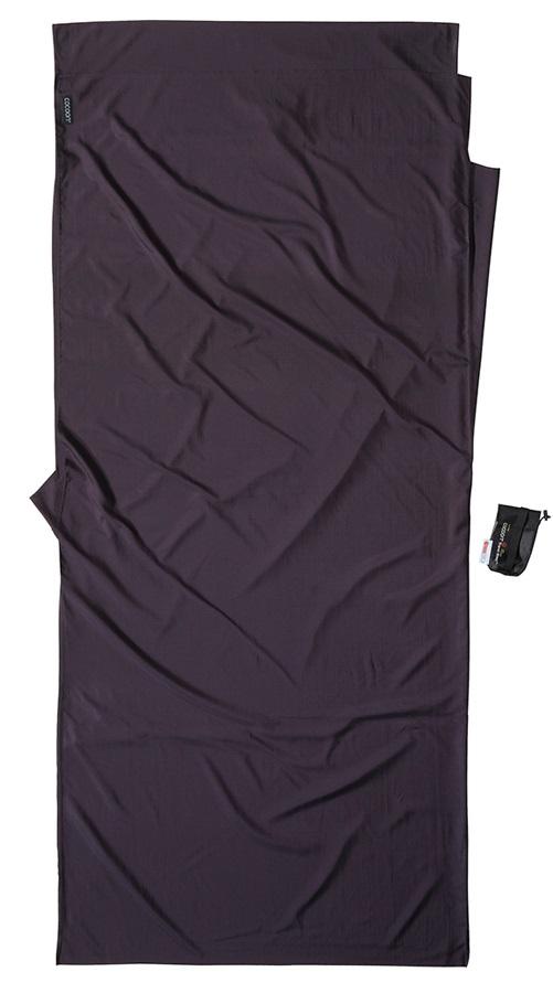 Cocoon Thermolite Silk Travelsheet Sleeping Bag Liner, Volcano