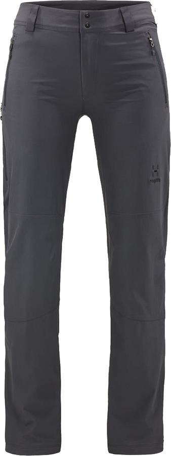 Haglofs Moran Pants Women's Hiking Trousers, UK 12 Magnetite