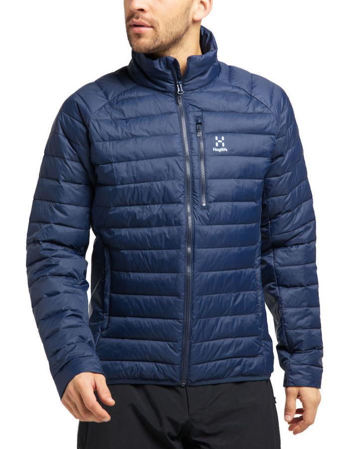 Haglofs Spire Mimic Insulated Water Resistant Jacket, M Tarn Blue