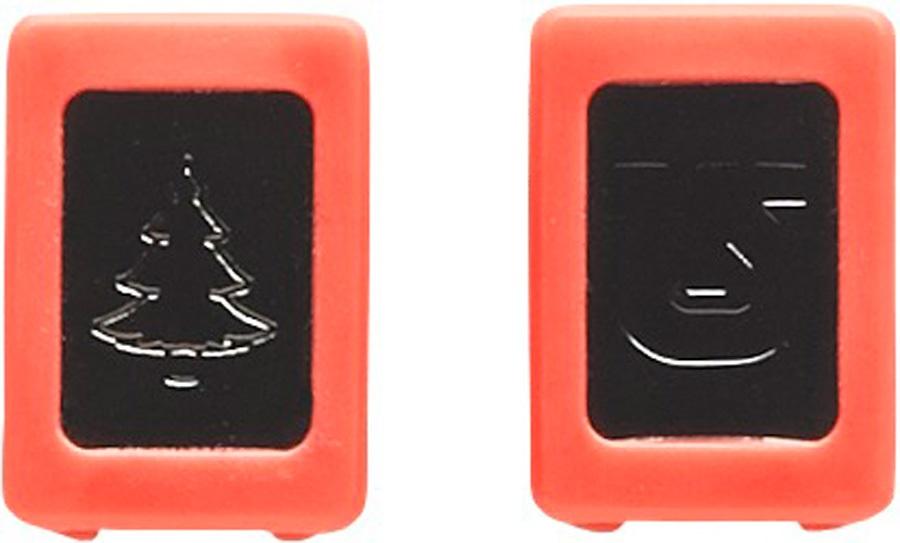 Burton Replacement/Spares ICS M6 Channel Plugs Pine Tree/Process