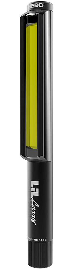 Nebo Lil Larry Work Light High Power LED Torch, 250lm Black