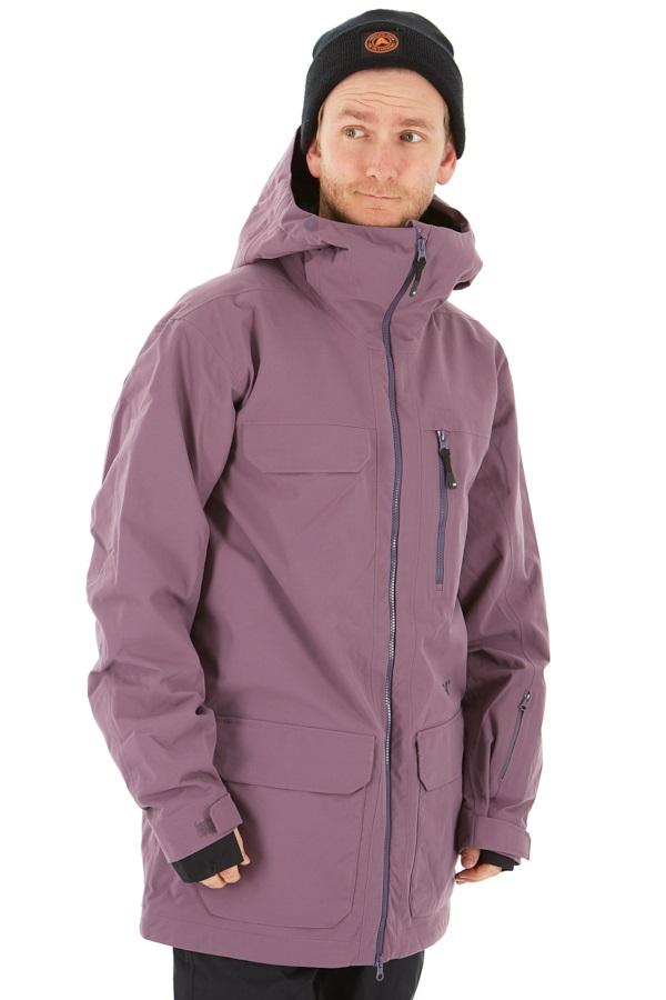FW Catalyst 2L Snowboard/Ski Jacket, L Purple
