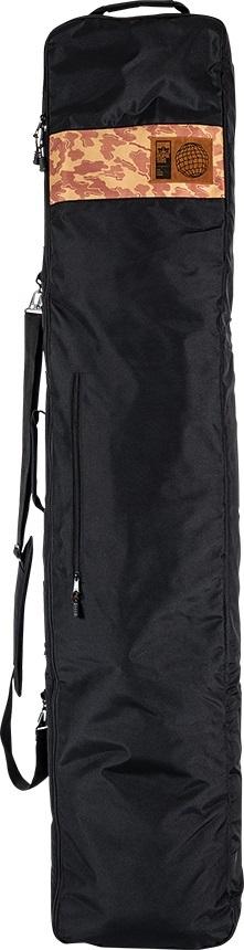 Rome Roadie Snowboard Bag, 162cm Black/Camo