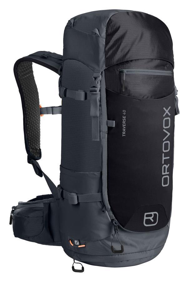 Ortovox Traverse 40 Mountain Backpack/Rucksack 40L Black Steel
