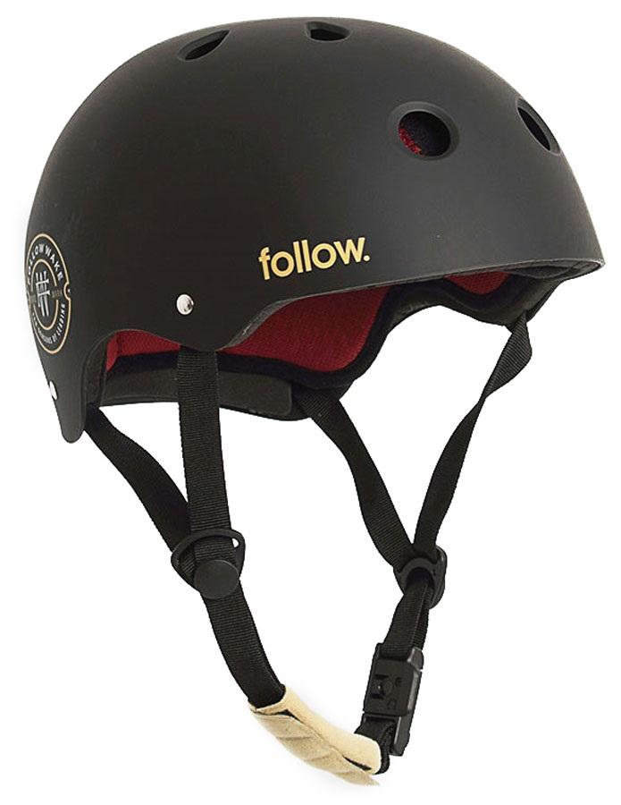Follow Pro Watersports Helmet, S Black Maroon 2021