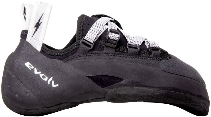 Evolv Phantom Rock Climbing Shoe, UK 6   EU 39.5 Black