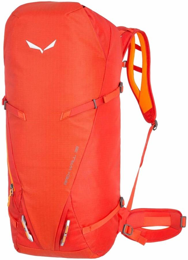 Salewa Apex Wall Mountaineering Backpack, 38L Pumpkin