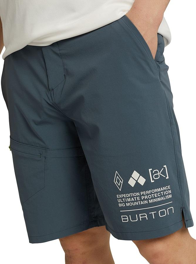 Burton [ak] Lapse Stretchy Hiking Shorts, XL Dark Slate